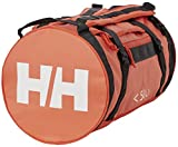 Helly Hansen HH Duffel Bag 2 50L Bolsa de Viaje, Unisex Adulto, Ebony/Cherry Tomate