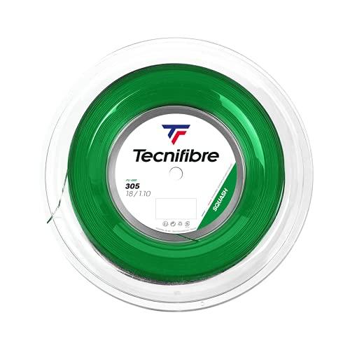 Tecnifibre Bobine 200M-305-1.10 - Cuerda de Squash para Adulto, Verde, 1,10/200 m