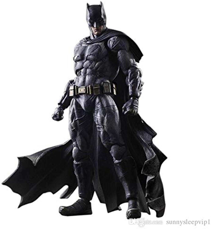 la mejor selección de Wen Zhe Square ENIX Jugar Arts Kai Batman contra contra contra súperman Dawn Justice NO.1 Batman Acción de PVC Colección de Personajes Modelo de Juguete 25 cm Modelo de Juego  presentando toda la última moda de la calle