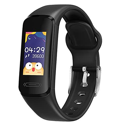 Happy Cherry - Reloj inteligente para mujer y hombre, impermeable, pulsera inteligente, unisex, multifunción, pulsera conectada para hombre, deporte, rastreador de actividad, para Android iOS