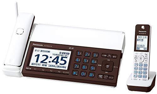 パナソニック デジタルコードレス普通紙ファクス 子機1台付き ピアノホワイト KX-PD915DL-W 1台