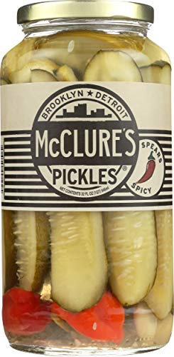 McClure's Spicy Pickles Spears, 32 oz