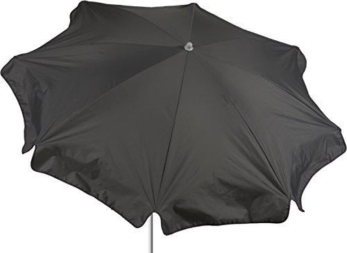 beo Parasol Rond diamètre 180 cm étanche, Gris