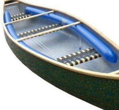 Kenterschläuche Auftriebskörper Garnitur Set PVC Blau 3,20m f. Prijonboote, Kanu, Canadier, Kanadier (1Paar)