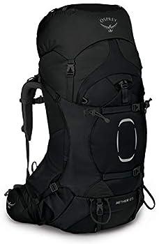 Osprey Aether 65 Sac de Grande Randonnée Homme Black - S/M