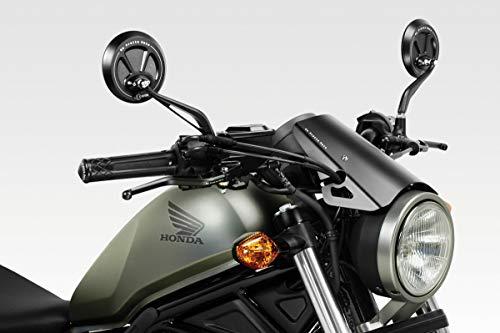 CMX500 Rebel 2017/19 - Windschutzscheibe 'Exential' (S-0799) - Aluminium Windschild Windabweiser Scheibe - Hardware-Bolzen Enthalten - Motorradzubehör De Pretto Moto (DPM Race) - 100% Made in Italy
