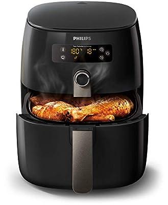 Philips HD9741/90 Airfryer Noir - faites cuire, frire, rôtir, griller tous vos aliments
