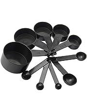 Dynamovolition 10 stuks / set duurzame huishoudplastic maatbeker maatlepel ergonomische handgreep keuken meetgereedschap