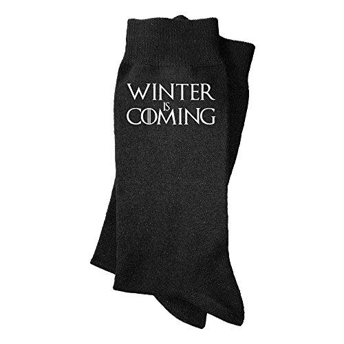 Calcetines de hombre Winter is coming. Calcetines divertidos