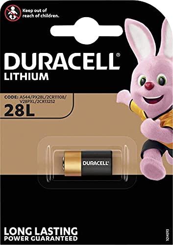 Duracell 28L Lithium-Hochleistungsbatterie (2CR13252) 1 Stück