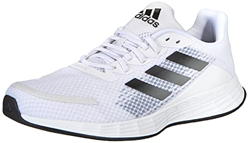 adidas Herren Duramo SL Road Running Shoe, Cloud White/Core Black/Grey, 42 2/3 EU
