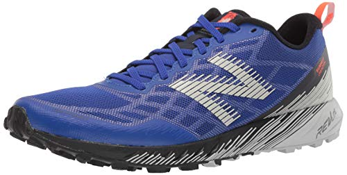New Balance Summit Unknown V1, Zapatillas de Trail Running Hombre, UV Azul Alpha Naranja, 42.5 EU