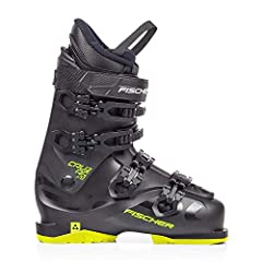 Fischer Unisexe - Adulte Cruzar X 9.0 Thermoshape Black/Yellow Hommes Chaussures de ski (2019), Mondo Point Dimension:30/30.5, noir/jaune