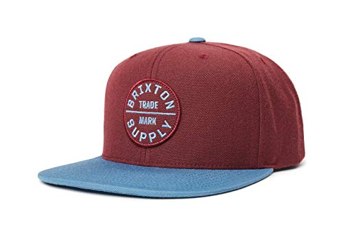 BRIXTON Headwear Oath III 00173 - Chaqueta con Cierre Snapback (Talla única),...
