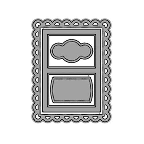 Scrapbooking Schneidwerkzeuge, Hochzeitseinladung Geburtstagskarte Schneidwerkzeuge für DIY Scrapbooking Fotoalbum Dekorative Metallschablone Fun Puzzle Craft