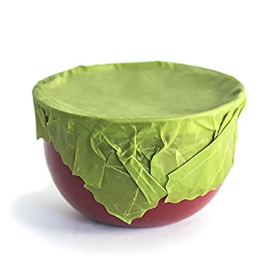 Organic Reusable Food Wraps by Etee - Biodegradable, Non-Toxic & Plastic Free (18 Pack) - Say Goodbye to Plastic