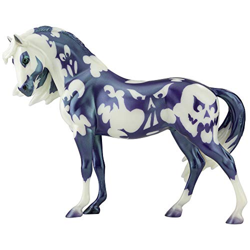 """Breyer Horses Traditional Series Limited Edition   Apparition - 2020 Halloween Horse Limited Edition   Horse Toy Model   11.5"""" x 9""""   1:9 Scale Horse Figurine   Model #1838"""