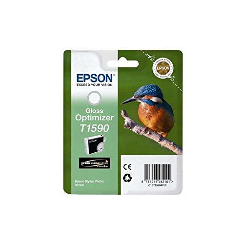 Epson Ink Gloss Optimizer No. T1590 T1590 Gloss Optimizer, C13T15904010 (T1590 Gloss Optimizer, Original, Pigment-Based Ink, Gloss Enhancer, Stylus Photo R2000,)
