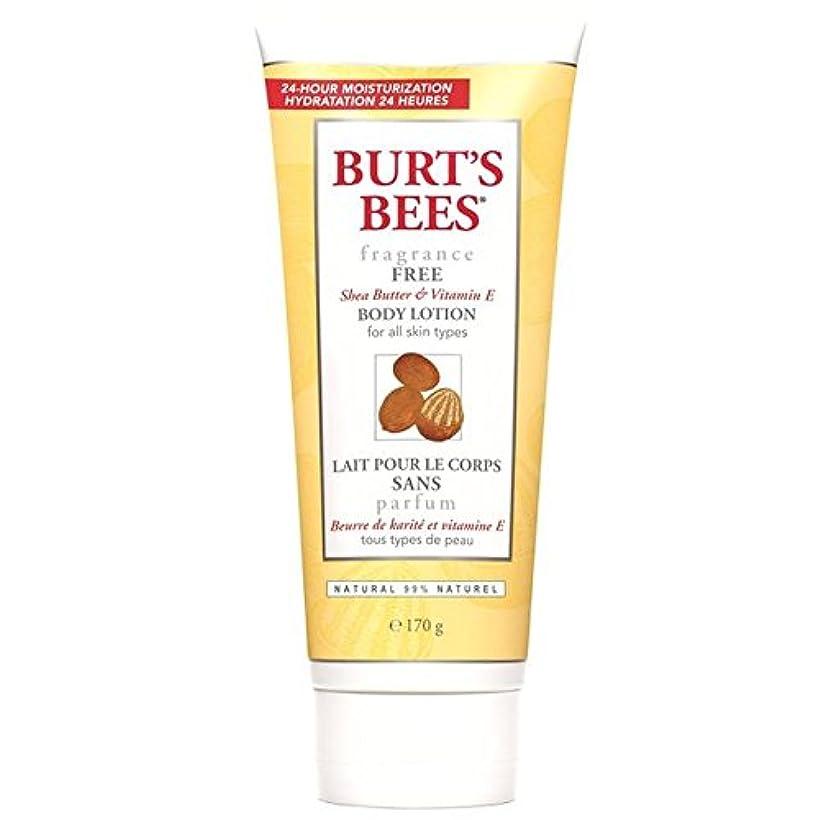 セグメント第四個人的なBurt's Bees Fragrance Free Body Lotion 177ml (Pack of 6) - バーツビーの無香料ボディローション177ミリリットル x6 [並行輸入品]