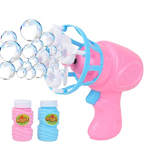 Jesaisque 2020 New Funny Automatic Bubble Blower Now $7.44 (Was $37.21)