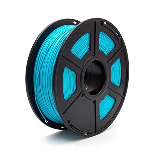 WANGZHI. 3D-Drucker Filament PLA 1,75 mm 1 kg / 2,2 lbs 3D Plastikartikel-Material 3D Filament PLA (Color : Blau, Size : Kostenlos)