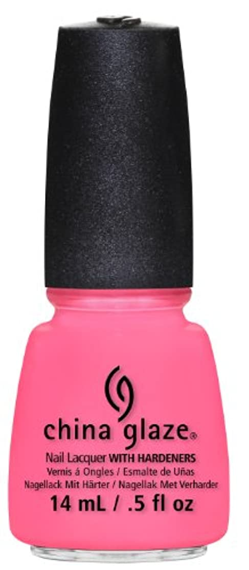 China Glaze Nail Lacquer, Neon and On and On, 0.5 Fluid Ounce