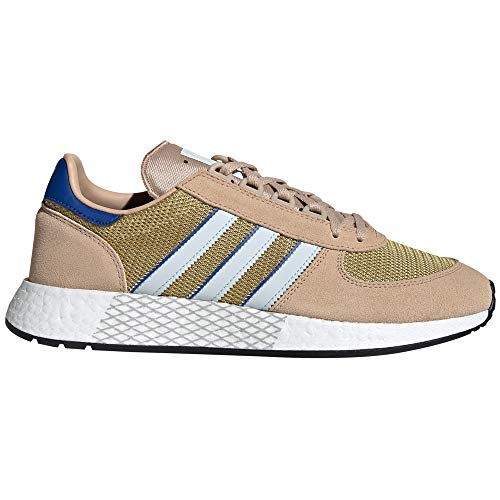 Adidas Marathon Tech - Zapatillas Deportivas para Hombre, Sneaker.4g (43 EU, Pale Nude/Blue Tint/4g Royal)