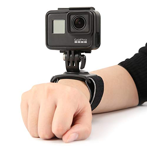 Tätigkeits-Kamera-Hand für OSMO Pocket / GOPRO5 / 6/7 und Handgelenk-Bügel für DJI OSMO Action GoPro Action-Kamera 360 Grad Drehung Einstellbare Größe