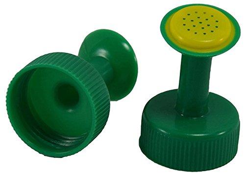 5 Stück Kunststoff Flaschendeckel Bewässerungsdüse Dusche Sprinkler Pflanzen Gießkannen Praktisches Gadget (zufällige Farbe)