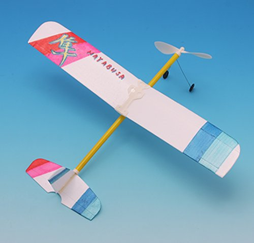 池田工業社ゴム動力模型飛行機はやぶさ000055660