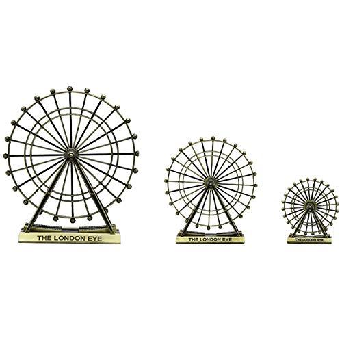 Iycorish Retro Riesen Rad Dekoration Ornamente Haus Zubeh?r Wohn Zimmer Wein Schrank Tv Schrank Kreatives Handwerk