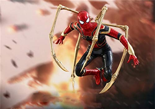 Kaikai Film Avengers Thor Thor Stahl Spiderman Statue Dekoration Geschenk 30CM (Farbe: A) (Color : A)
