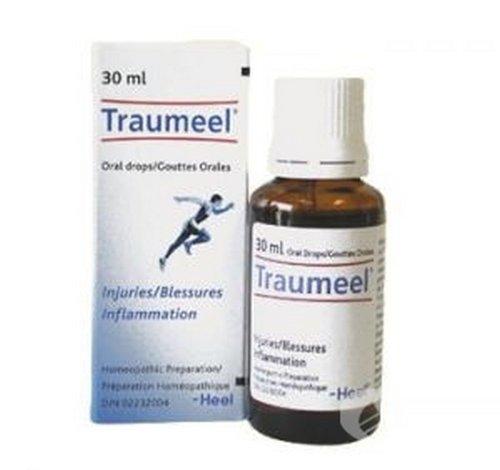 Traumeel - Analgésico homeopático, antiinflamatorio, para el alivio del dolor (gotas de uso oral 30 ml), gotas, comprimidos S Gel
