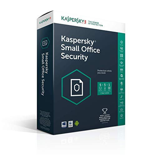 Kaspersky Small Office Security 5.0 (1 server + 5 users + 5 mobiles, 1 an) - mini sierra box