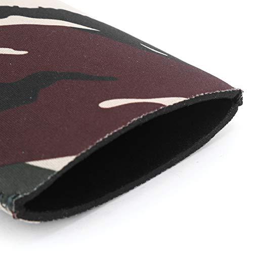 Sac en nylon multicolore multi-couleurs sac de rangement pour outils à cordon de serrage multifonction grand sac de pique-nique en maille Durable pour l'alpinisme à cheval(Camouflage Army Green)