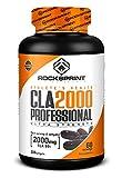 ROCKSPRINT | CLA - ÁCIDO LINOLEICO CONJUGADO | CLA 2000 Professional | Quema grasas, Tonifica | 120 perlas