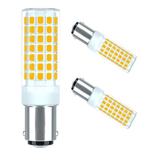 B15D,B15D led,B15D Lampe,B15D LED Glühbirne,B15D LED Leuchtmittel,B15 LED Lampe Birne,LED-Lampen B15DDimmbar 6W Ersatz 60W B15D Halogenlampe,230V,360°Abstrahlwinkel, Warmweiß 3000K(2 Stücke),seami