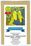 Pepperoncini Golden Greek - zum Einlegen oder frisch in Salaten - Pizza - 20 Samen