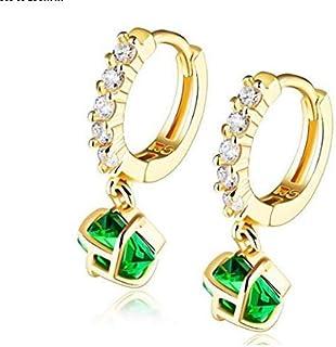 OPK Korean Style Cubic Zirconia Dangle Earring For Women