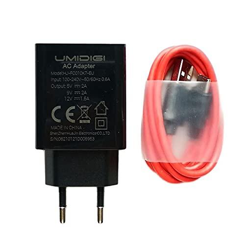 N\A Original para UMIDIGI bisonte F1 cargador de carga rápida adaptador de CA para teléfono+cable USB