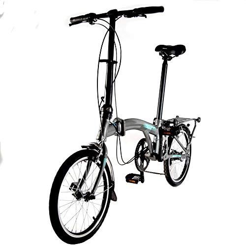 Benotto Bicicleta Plegable Piegare R16 3v. Aluminio – Gris