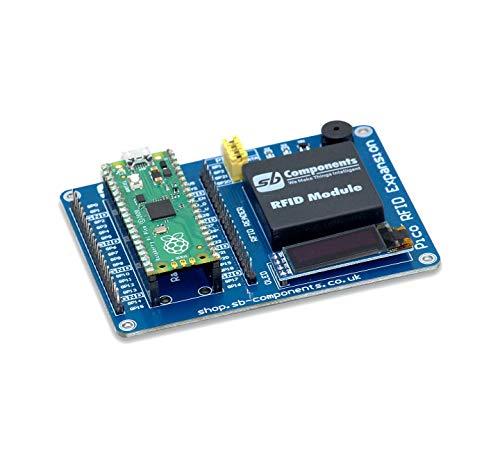 sb components Raspberry Pi Pico Board mit Raspberry Pi Pico RFID Expansion RFID Shield Expansion HAT für Raspberry Pi Pico, Raspberry Pi Pico Kit
