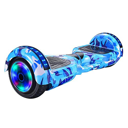 QIYA Bluetooth Eléctrico Bluetooth Smart Balance Scooter Dos Wheeler Boy Girl Girl Coche C