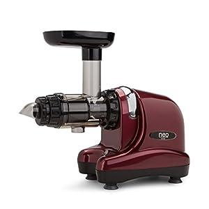 Extractor de zumos Oscar Neo DA 1000 – Tecnología Cold Press Slow juicer. Zumo Vivo 48h. Material libre de BPA. ¡Exprime hasta hierba de trigo! 30 días de prueba