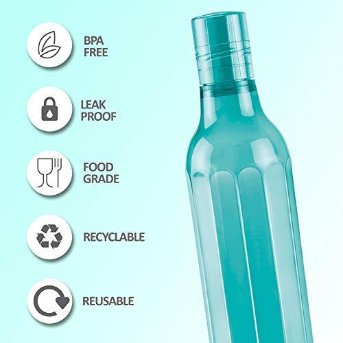 Milton Prism Pet Bottle, 1000 ml, Blue