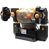 LYYSHUJIA Ping Pong Training Robot, Automatic Table Tennis Ball Machine Serves 36 Different Spin Balls,...