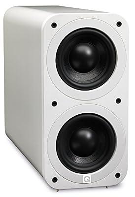 Q Acoustics 3070s Active Subwoofer (Gloss White) from Q Acoustics