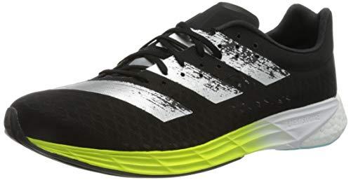 adidas Adizero Pro, Zapatillas para Correr Hombre, Core Black Core Black Solar Yellow, 43 1 3 EU