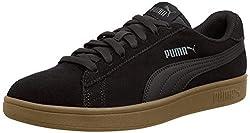 PUMA Unisex-Erwachsene Smash V2 Sneaker, Schwarz (Puma Black-Puma Black), 42 EU