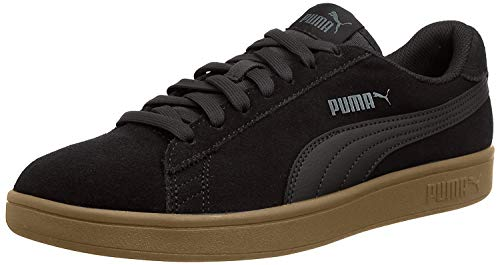 PUMA Smash v2, Zapatillas Unisex Adulto, Negro Black Black, 41 EU